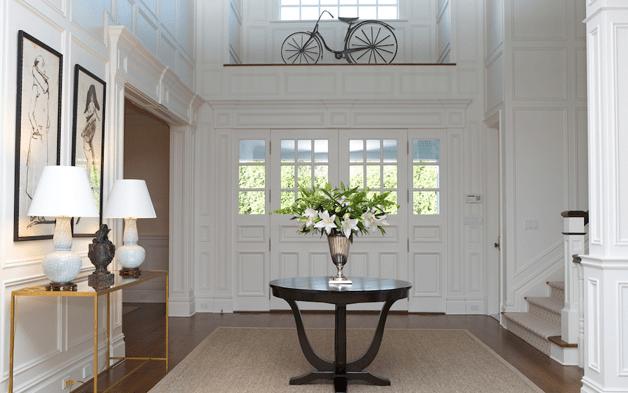 Round Table In Foyer Design Ideas
