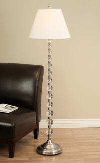 Pottery Barn Stacked Crystal Floor Lamp Look 4 Less!