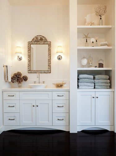 Built In Bathroom Cabinet  Traditional  bathroom
