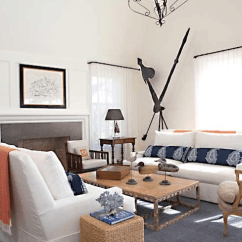 White Slipcovered Sofa Living Room Built In Bar Ideas Sofas Cottage Jean Allsopp