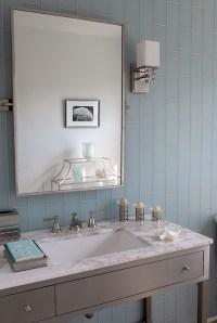 Gray and Blue Bathroom Ideas - Contemporary - bathroom ...