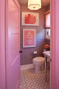 Pink Girl's Bathroom - Contemporary - bathroom - Grant K ...