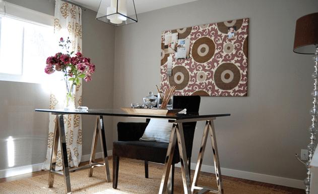 lilac office chair revolving description sawhorse desk - contemporary den/library/office