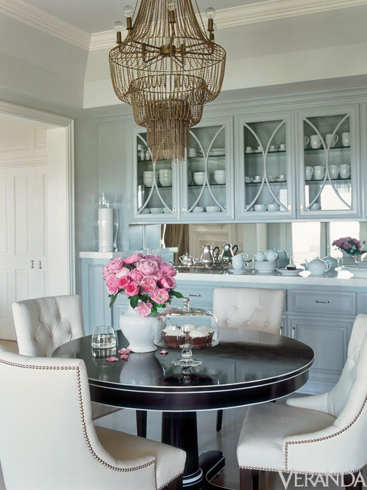 Arteriors Maxim Chandelier  Transitional  Dining Room