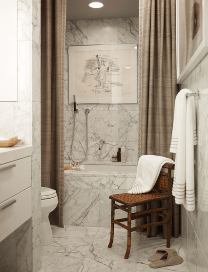 taupe shower curtains transitional