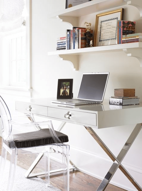Black Lacquered Desk Design Ideas