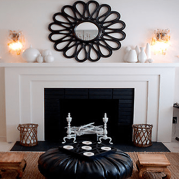 Prepossessing Mirrors For Above Fireplace Charming Bedroom Decorating Ideas
