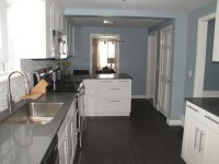 Slate Blue Paint Color - Contemporary - kitchen - Benjamin ...