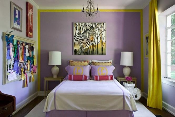 Purple And Gold Bedroom B1 B3 B4