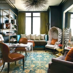 Burnt Orange Living Room Accessories Wood Furniture Images Zebra Chair - Eclectic Den/library/office Atlanta ...
