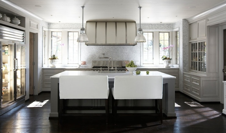 Island Bench  Contemporary  Kitchen  Tracery Interiors