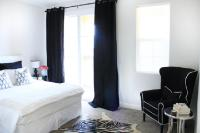 Black Curtains - Contemporary - bedroom - Made by Girl