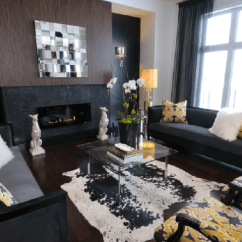Modern Black Living Room Sale Yellow And Contemporary