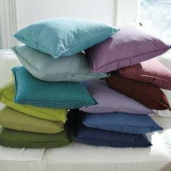 Sectional Living Room Design Pictures Of Wall Colors Washed Linen/cotton Pillow Covers - West Elm