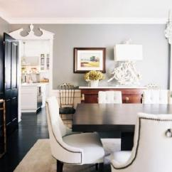 Baker Tufted Dining Chairs Reserved Signs For Nailhead Trim - Contemporary Room Jeneration Interiors