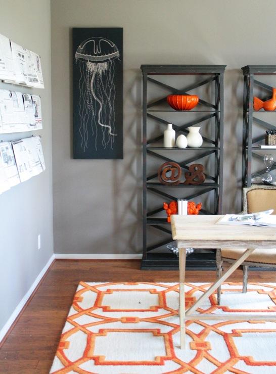 Orange Curtains Design Ideas