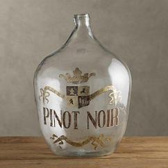 Rugs For Hardwood Floors In Kitchen Compost Pail 1920s Hand-blown Wine Bottle Pinot Noir - Objêts D'art ...