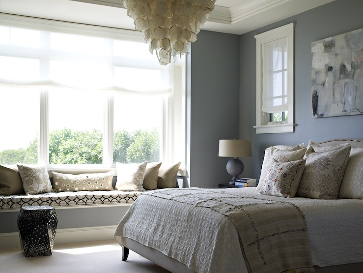 Window Seat in Bedroom  Contemporary  bedroom  Bella Mancini Design