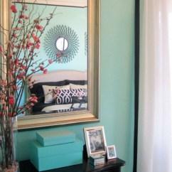 Wingback Office Desk Chair Ergonomic Laptop Tiffany Blue Wall Color Design Ideas