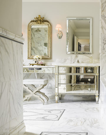 Mirrored Vanity Design Ideas