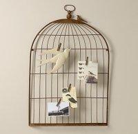 Restoration Hardware Baby and Child Bird Cage Wall Art ...