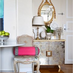 Black And White Cowhide Chair Old Covers Hire French Buffet Cabinet - Entrance/foyer Sherwin Williams Softer Tan Linda Mcdougald ...