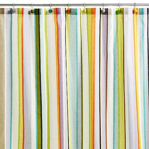 Stripe Shower Curtain Echo Design �?� Shop Designer Scarves