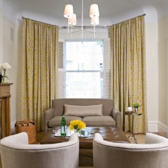 Tufted Brown Leather Sofa Beds And Futons Yellow Silk Drapes - Transitional Living Room Sarah ...