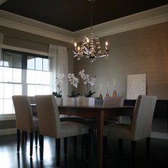 Black Leather Wingback Chair Cheap Beach Lounge Chairs Brown Grasscloth Wallpaper Design Ideas