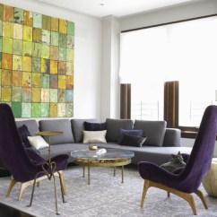 Eggplant Sofa Lime Green Sofas Gray And Purple Living Room - Modern ...