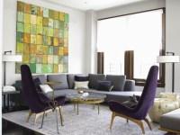Purple Accent Chairs Design Ideas