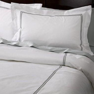 Fieldcrest Luxury Hotel Sheet Set  Grey King