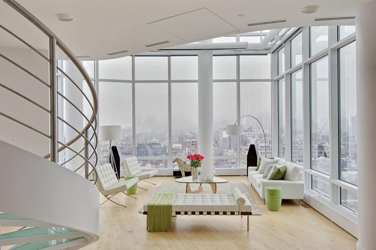 Contemporary Living Room Makeover