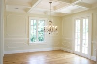 Trim Moldings - Transitional - dining room - Tiek Built Homes