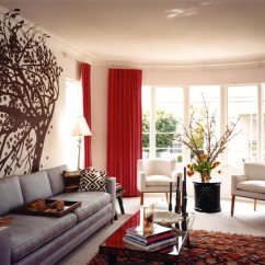 Red And Brown Living Room Curtains Blinds Argos Velvet Contemporary