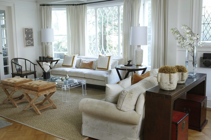 Seagrass End Tables  Eclectic  living room  Ashley
