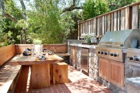 Outdoor Kitchen Ideas - Transitional - deck/patio ...