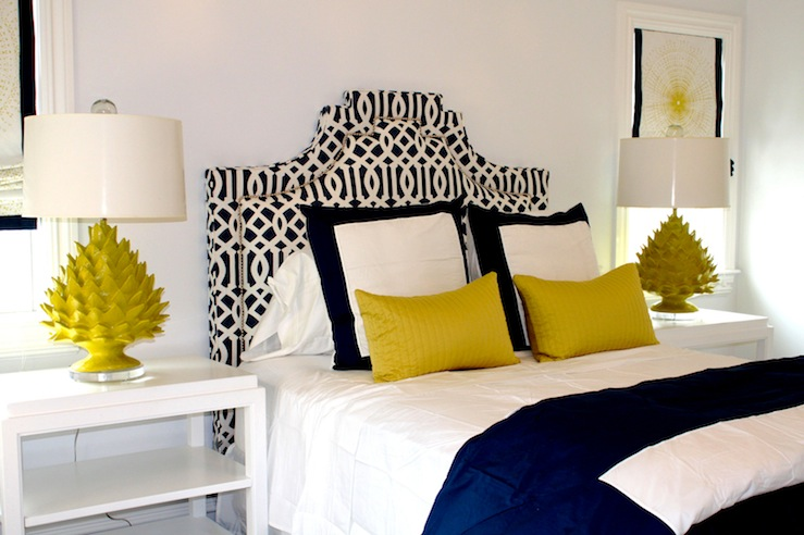 Blue And Yellow Bedroom Contemporary Bedroom Porter Design Company
