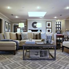Living Room Ottoman Ideas How To Arrange Furniture With Fireplace And Tv Paint Gallery - Benjamin Moore Senora Gray Colors ...