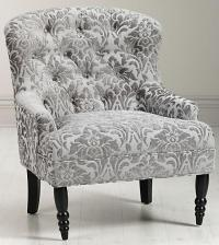 Lainey Tufted Arm Chair - Arm Chairs - Living Room ...