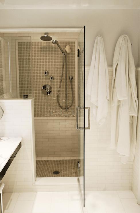 Gray Shower Tiles Contemporary Bathroom MSM Property
