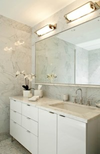 White Bathroom Cabinets Design Ideas