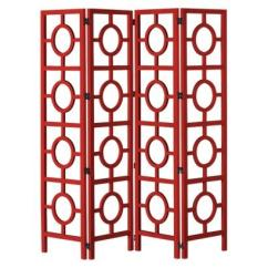 Office Desk Chairs Target Klismos Dining Chair Target:room Divider With Circle Pattern - Red