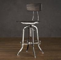 Vintage Toledo Chair Polished Chrome - Bar & Counter ...