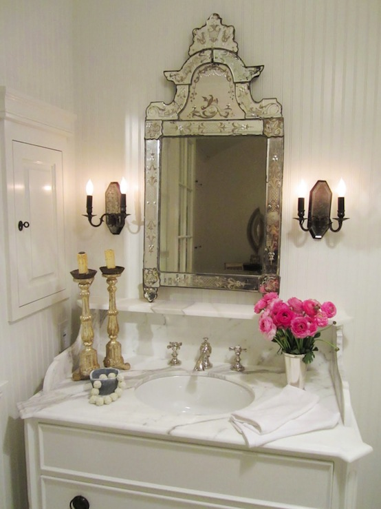 Venetian Bathroom Mirrors