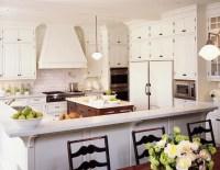 Beveled Subway Tile - Transitional - kitchen - Alexandra ...
