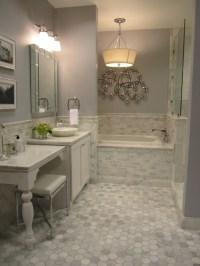 Carrera Marble Tiles - Contemporary - bathroom - Sherwin ...