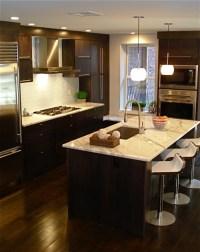 Espresso Kitchen Island Design Ideas