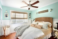 Seagrass Headboard - Cottage - bedroom