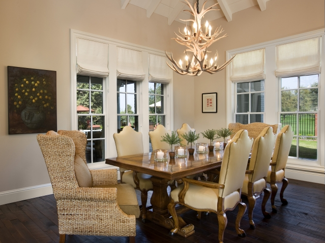 Dining Room Captain Chairs  Cottage  dining room